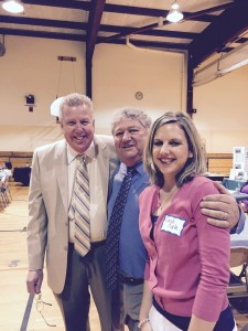 With Vic Maloney and Sandi Coyle at Substance Abuse Forum.